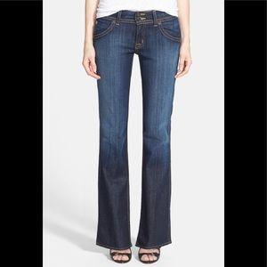 Hudson Signature Petite Bootcut Jeans Elm Blue 27